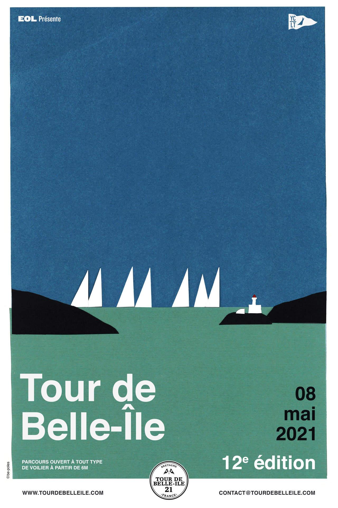 Affiche du TOUR DE BELLE-ILE 2021